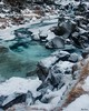Icy Stream (akemp42) Tags: snow stream ice grass rocks iceland water afsnikkor1735mmf28difed
