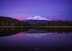 Mt. Shasta from Lake Siskiyou (wesome) Tags: adamattoun mtshasta shasta lakesiskiyou