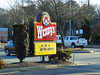 Wendy's (Coventry, Rhode Island) (jjbers) Tags: rhode island january 14 2018 wendys fast food coventry old sign road