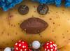 Mrs Potatoehead (fotofrysk) Tags: macromonday speckled mrspotatoehead potatoe eyes buttons chocolate bonbon necklace costumejewelry canada ontario thornhill cityofmarkham afsmicronikkor105mm28ged nikond7100 201801198996
