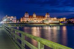 Rügen - Seebrücke Binz (cmfritz) Tags: binz deutschland europa inselrügen kurhaus mecklenburgvorpommern seebrücke meer strand beach sea blaue stunde