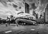 Cloud Gate Sculpture Chicago (Alfonsina Monachino-Stevenson) Tags: 2016 chicago cloudgate sights travel year