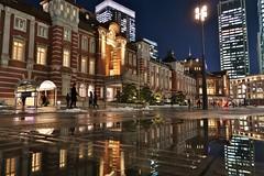 Tokyo Station (namhdyk) Tags: tokyo japan night canon canonpowershot canonpowershotg7x