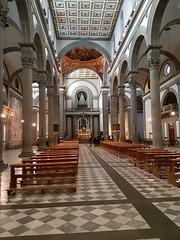 Brunelleschi's nave, The Basilica di San Lorenzo , Florence. (greentool2002) Tags: brunelleschi nave the basilica di san lorenzo florence