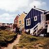 Kulusuk Rainbow (Úlfur Björnsson) Tags: greenland trip kulusuk mamiya medium format film 6x6 120 fuji fujifilm velvia iso 100 80 80mm sekor color colors summer houses house