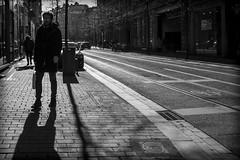 Streets of Antwerp (Sjaco Manuputty) Tags: streets street streetphotography blackandwhite bnw people man male shadows road sun sunlight antwerp antwerpen belgium belgie