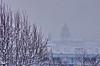 179 Paris en Février 2018 - sous la neige vue sur Paris depuis le Belvédère de Belleville, le Panthéon (paspog) Tags: paris neige frane snow schnee février toits roofs decken februar toitsdeparis 2018 february belvédèredebelleville belleville