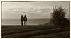 what's next? (marinachi) Tags: monochrome people bw landscape sea sky sundaylights twogether smileonsaturday