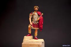 sold 63 (Adriano Clari) Tags: soldatini miniatura model romano roma soldier soldato legionario modellismo adriano clari macro gladiatori gladiators diorama scenetta imperatore