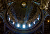 Inside St. Peter's Basilica (part II) (Greg @ Montreal) Tags: stpetersbasilica vatican rome roma italiy italie basilique basiliquesaintpierre vacances voyage inside intérieur cathédrale cathedrale rays ray rayons rayon light europe holidays church eglise nikon nikonpassion d7100