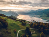 Flying Over Switzerland (Todd Danger Farr) Tags: switzerland mavic mavicpro lucerne lake sunrise sun sunlight clouds hiking outdoors europe