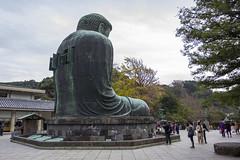 Behind the Kamakura Daibutsu (calum.hale) Tags: 日本 japan 鎌倉 kamakura daibutsu statue bronze