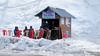 Gulmarg in Winter (pallab seth) Tags: teastall dailylife town winter landscape skiing kashmir snowboarding gulmarg adventuresports travel india nature