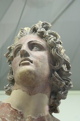 Apollo in Falerii fragments - Rome Spring 2018 National Etruscan Museum at the Villa Julia. (Kevin J. Norman) Tags: italy rome etruscan villa julia giulia etrusca juliusiii falerii apollo