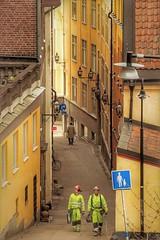 Ghostbusters (andersåkerblom) Tags: lamps streetlamps canon men walking streetlife streetphotography streetphoto street södermalm stockholm