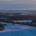 Winter sunrise on Marion County thumbnail