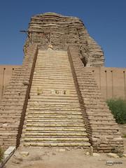 Dur-Kurigalzu Ziggurat (5).jpg (tobeytravels) Tags: iraq argagouf ʿaqarqūf aqarquf neobabylonian enlil temple elamite akkadian kassite fortified mesopotamia sumaria kurigalzu