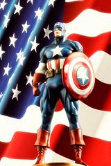 Captain America | Statue | Bowen Designs (leadin2) Tags: marvel captainamerica captain america bowendesigns bowen designs statue steve rogers newsreel canon 2018 comics avengers painted