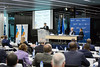 ICC holds Judicial Seminar on Complementarity and Cooperation of National, Regional and International Courts (ICC-CPI) Tags: icc cpi internationalcriminalcourt courpénaleinternationale judge howardmorrison chunghochung thehague thenetherlands judicialseminar openingofjudicialyear2018