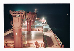 014_36 (jimbonzo079) Tags: bay bengal india asia dark light night mv anchorage bulk carrier bulker cargo greek hellas marine maritime naval utm work industry industrial trip travel world view vintage old film art steel kodak portra 160 colour color 2015 canon ae1 fd 50mm f18 lens negative konica minolta dimage scan dual iv slr 135 35mm analog ocean sea ship vessel boat onboard crane scape deck mood portra160 newportra160 kodakportra160 newkodakportra160 bayofbengal canonae1 konicaminoltadimagescandualiv