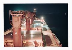 014_36 by jimbonzo079 - Anchorage - Bay of Bengal - India - 26/6/2015  Name: - IMO: - Flag:Liberia MMSI: - Callsign: - Vessel type:Bulk Carrier Gross tonnage:24,533 tons Summer DWT:42,584 tons Length:188 m Beam:31 m Draught:8.7 m Home port:Monrovia Class society:Bureau Veritas Build year:1997 Builder:Split Shipyard Split, Croatia Owner:-  Canon AE-1 & FD 50mm f1.8 Lens Kodak Portra 160 Konica Minolta Dimage Scan Dual IV