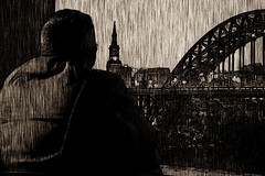 Looking over the city (Brbelly) Tags: graphic novel city newcastle art