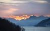 Sunrise/sunset (Bente Nordhagen) Tags: fjell hav himmel solnedgang lyngen
