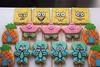 Biscoitos decorados - Festa Bob Esponja (Elaine Russo - Delizie! Arte com Açúcar) Tags: bob esponja sponge cookies