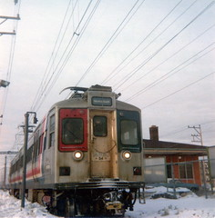 First Skokie Swift ride Feb78 (jsmatlak) Tags: chicago cta l elevated subway train electric railway rapid transit 54 skokie swift