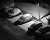 bien réparti - well distributed (vieux rêveur) Tags: nb bw noir negro black blanc blanco white car voiture neige snow