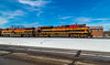 Snow Belles (Brandon.H.Photography.) Tags: tower berea be ohio kcs kansas southern kansascitysouthern train colorful railroad railway emd ge locomotive city snow