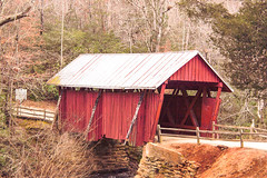 Lensbaby Challenge: My city/hometown (Velvet 56) (tamra.fairchild) Tags: covered bridge velvet56