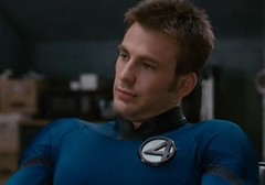 Human Torch (Guardian Screen Images) Tags: fantastic four movie costumes new torch spandex human chris evans super hero superhero superheros superheroes marvel comic comics rise silver surfer sequel 2 second 2nd two book books heroes heros film lycra tight tights storm johnny 4