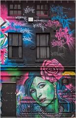 Josephine's Place, Digbeth, Birmingham. (Phil Dodd CPAGB BPE1*) Tags: panasonicdmcg5 digbethbirmingham westmidlands colourphotography streetphotography streetscenes streetart birmingham digbeth 43photography graffitiart graffitiartists urbangraffiti