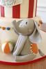 Circus Elephant Figurine Cake (Oakleaf Cakes) Tags: gumpaste figurines