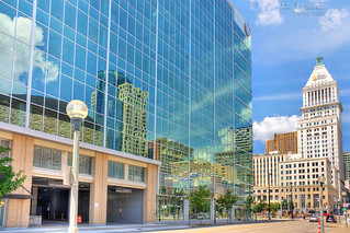 Downtown Cincinnati Reflections