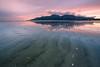 Murlough Sand (Hibernia Landscapes (sjwallace9)) Tags: ireland mountain beach sunset landscape down newcastle murlough