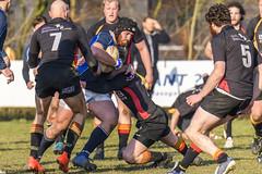 J2J52212 Amstelveen ARC1 v Groningen RC1 (KevinScott.Org) Tags: kevinscottorg kevinscott rugby rc rfc arc amstelveenarc groningenrc 2018