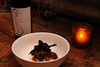 4th Course: Cocoa braised short-rib, cocoa butter whipped potatoes, and crispy kale paired with our 2013 Cabernet Sauvignon (sarahstierch) Tags: corner103 chocolate wine winelunch lunch catering suited california sonoma sonomavalley short ribs mashed potatoes kale