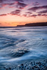 Sunset On The Ledge. (Andy Bracey -) Tags: bracey andybracey andybraceyphotography landscape seascape leefilters nikon incomingtide kimmerigebay kimmeridge dorset england winter sunset endoftheday daysend kimmeridgereds redsandoranges ledge rock swoosh longexposure motionblur water watermovement thedropoff offtheledge sunsetontheledge