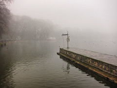 Fog & water: my endless source of inspiration (jimiliop) Tags: water fog morning winter mystery boat trees reflections ioannina greece lake dock nature calmness ripple