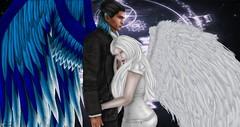 Daddies Angel (Teuila Takara (Taking/Needing Clients :P)) Tags: angelic angel blue mystical magical gaurdian family daddy starveltstudios starvelt slphotos sl secondlife photography repaint retouch