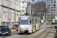 GER_321_200403 (Tram Photos) Tags: gera tram tramway strasenbahn ckd tatra kt4d gvb