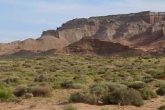 Desert from Lower San Rafael Road, UT (Lon&Queta) Tags: 2016 desert flickr gps landscapes mountains panoramio usa utah unitedstatesofamerica