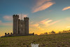 Hiorne Tower, Arundel (christian_lawrence) Tags: sunset hiorne tower arundel west sussex south downs landscape landscapephotography sunburst
