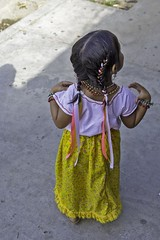 Dressed up (begineerphotos) Tags: mexico parade hualtco oaxaca dress hair girl 15challengeswinner beginnerdigitalphotographychallengewinner