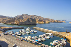 Scenic.  #yachts #lifestyle #coastline #harbor #muscat #travelphotography #nature #landscape #ocean #sightseeing (Jia9) Tags: landscape lifestyle harbor muscat sightseeing nature ocean coastline travelphotography yachts