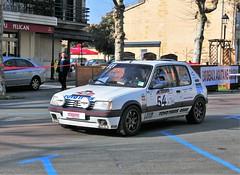 #54 Peugeot 205 GTI - 02 (kinsarvik) Tags: castillonlabataille gironde bordeauxaquitaineclassic rallye rally