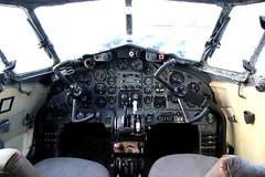 DH106 Dove cockpit (kitmasterbloke) Tags: dehaviland museum londoncolney hertfordshire uk aviation wreck relic wr civil airliner jet
