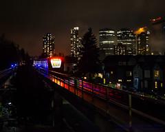 Skytrain: Part of the Vancouver Region Skyline (AvgeekJoe) Tags: artmarkiii bombardier bombardierartmarkiii bombardierinnoviametro bombardierinnoviametro300 britishcolumbia burnaby canada d5300 dslr importedkeywordtags innoviametro innoviametro300 lightrail nikon nikond5300 royaloakstation sigma1835mmf18 sigma1835mmf18dchsmart sigma1835mmf18dchsmartfornikon sigmaartlens skytrain train translink vancouver apartment apartments condo condos constructioncrane crane home houses masstransit night nightphoto nightphotograph nightphotography nightshot rail supertrain trainstation transit urbanrail